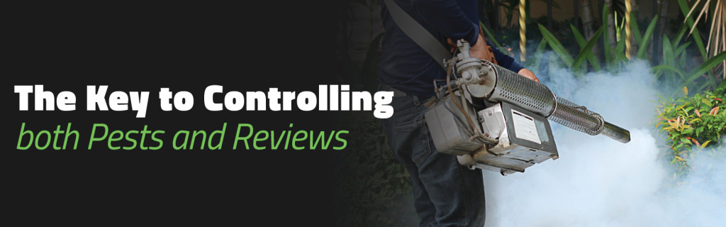 The Key to Controlling Both Pests and Reviews